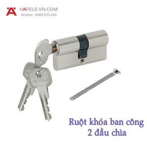 Ruột Khóa Ban Công 70mm Hafele 916.96.017