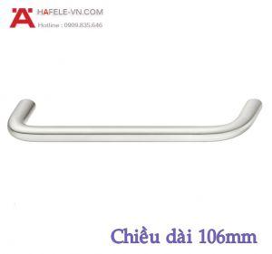 Tay Nắm Tủ Inox 106mm Hafele 155.01.231