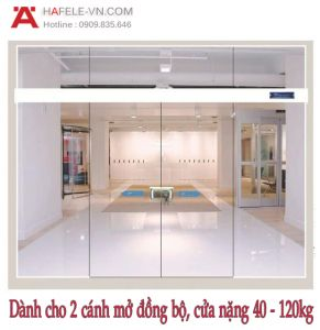 Phụ Kiện Cửa Trượt Kính Đồng Bộ Hafele 940.44.003