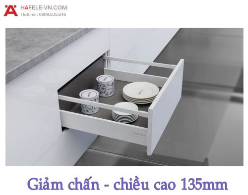 Ray Hộp Alto Giảm Chấn H135mm Hafele 552.77.785