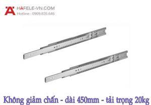 Ray Bi Không Giảm Chấn Dài 450mm Hafele 494.02.144