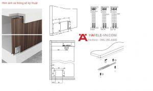 Phụ Kiện Cửa Trượt Tủ Slido Classic 50 IF Hafele 401.30.001