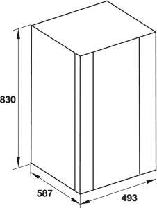 Tủ Rượu HW-G32A Hafele 534.16.960