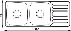 Chậu Rửa HS20-SSD2R90 Hafele 567.20.513