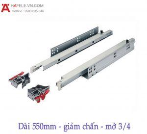 Ray Âm EPC Plus Giảm Chẩn Mở 3/4 D550mm Hafele 433.03.007