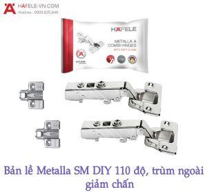 Bản Lề Trùm Ngoài Metalla SM DIY 110º Hafele 493.03.020