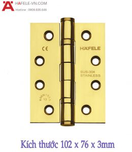 Bản Lề Lá 2 Vòng Bi 120Kg Hafele 926.98.048