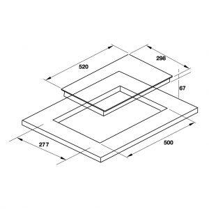 Bếp Điện Domino HC-R302D Hafele 536.61.670