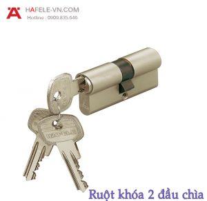 Ruột Khóa 2 Đầu Chìa 63mm Hafele 916.00.007