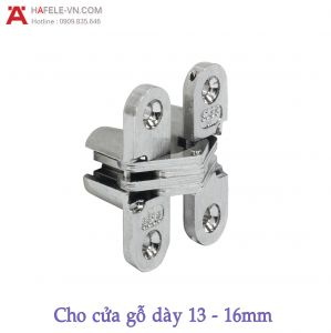 Bản Lề Âm Cho Cửa Gỗ Dày 13 - 16mm Hafele 341.07.718