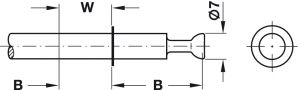 Ốc Liên Kết Ixconnect Minifix 15 Hafele 262.27.805