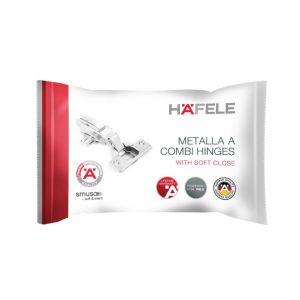 Bản Lề Trùm Ngoài Metalla A DIY 110º Hafele 493.03.021