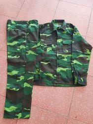 Quần áo vải kaki nam định màu Rằn Ri Bộ Đội