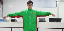 Áo khoác đồng phục vải gió