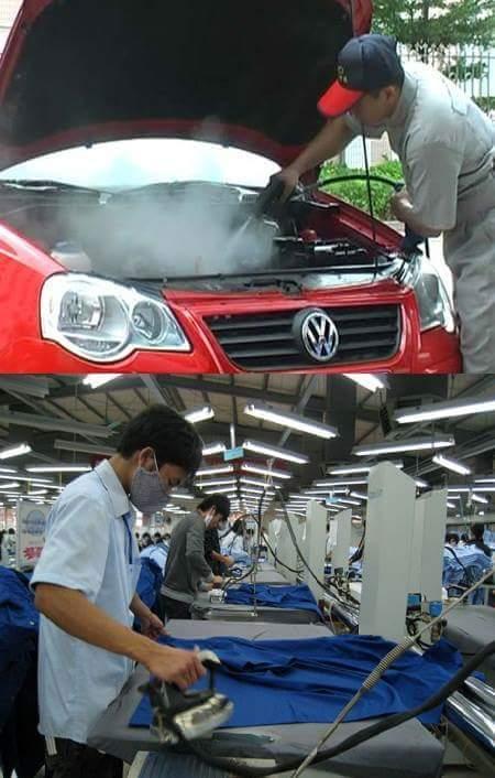 Hệ thống Là, rửa xe hơi