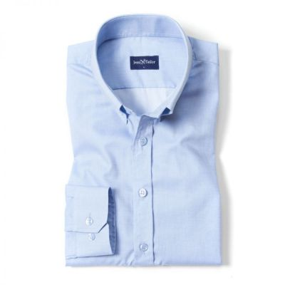Áo Sơ Mi Nam Business Casual Button Down Light Blue