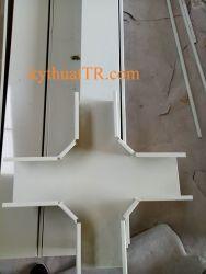 Chữ thập máng cáp 200x100 sơn tĩnh điện màu trắng