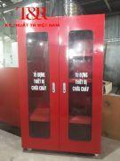 Tủ đựng thiết bị bảo hộ, thiết bị pccc theo thông tư 48
