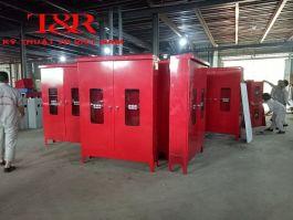 Tủ đựng thiết bị chữa cháy ngoài nhà 1875x1350x310x2.0mm