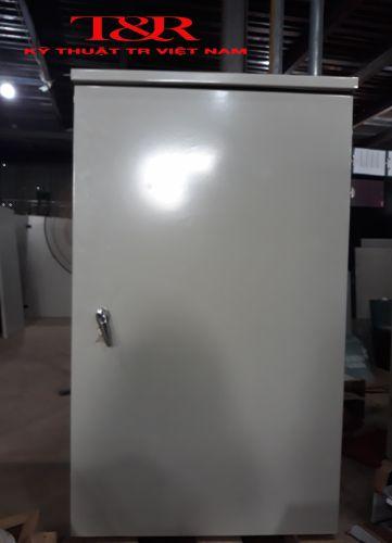 TỦ ĐIỆN NGOÀI TRỜI 1 LỚP CÁNH H1100x W750x D350x 1mm