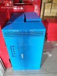 vỏ tủ điện màu xanh
