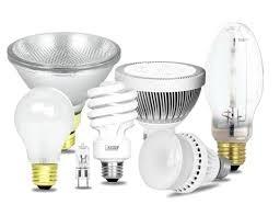 Các mẫu bóng đèn có thể xử lý