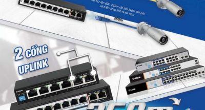 D-Link cho ra mắt nhóm thiết bị chuyển mạch 250m PoE Switch