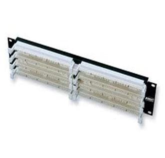 AMP 110Connect XC Rack Mount Panel, 100-Pair