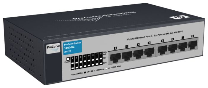 HP V1410-8G Switch