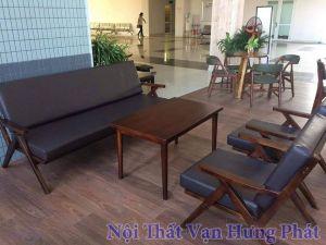 Bàn ghế sofa cho quán cafe SF6