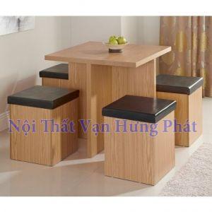 Bộ bàn ghế gỗ sồi BGG2