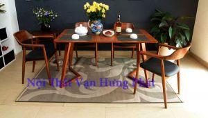 Bộ bàn ghế nhà hàng, phòng ăn gia đình cao cấp