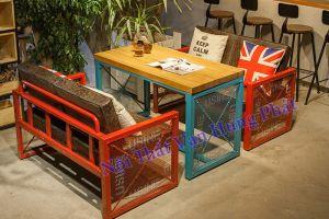 Bộ bàn ghế sofa cho quán cafe giá rẻ SF4