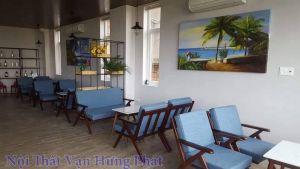 Bộ bàn ghế sofa cho quán cafe SF7
