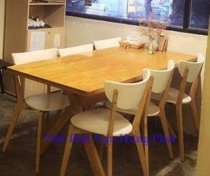 Bộ bàn ghế uma gỗ BGGD3