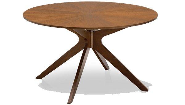 Mẫu bàn cafe với chất liệu gỗ sồi