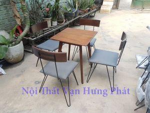 Bộ bàn ghế cafe phong cách Vintage BGCF17
