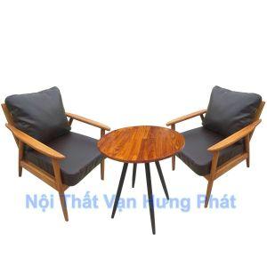 Bàn ghế sofa cafe đậm phong cách Châu Âu