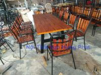Bộ bàn ghế cafe, nhà hàng ngoài trời