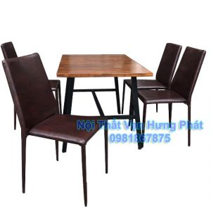 Bộ bàn ghế nhà hàng bgs25