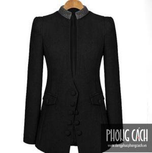 Áo vest công sở nữ kiểu dáng Hàn Quốc 011