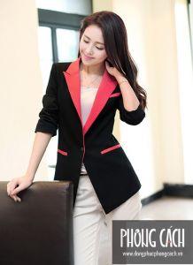Áo vest công sở nữ kiểu dáng Hàn Quốc 013
