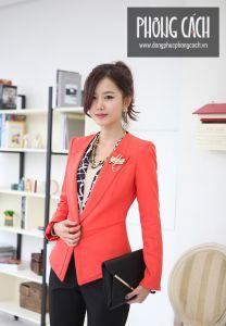 Áo vest công sở nữ kiểu dáng Hàn Quốc 016
