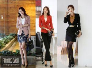 Áo vest công sở nữ kiểu dáng Hàn Quốc 017