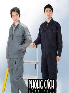 Đồng phục công nhân, bảo hộ lao động 006