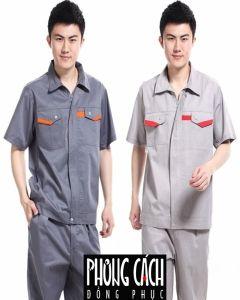 Đồng phục công nhân mẫu 010
