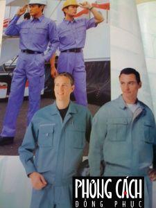 Đồng phục công nhân mẫu 013