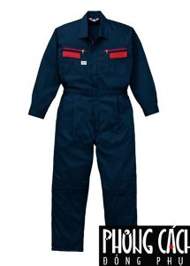 Đồng phục công nhân mẫu 015