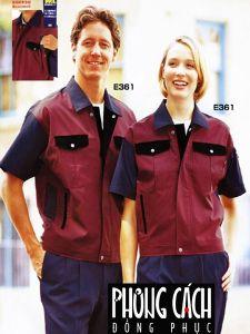 Đồng phục công nhân mẫu 020