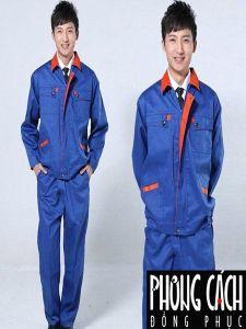 Mẫu đồng phục công nhân 002